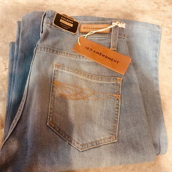18th Amendment Denim - 18th Amendment High Waist Super Flare 70's Jeans
